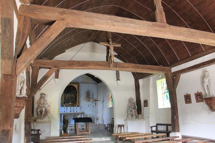 Journées du patrimoine 2018 - Visite libre de l'église Notre Dame de Cocherel
