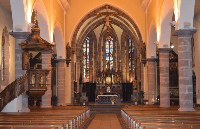 Journées du patrimoine 2018 - Visite libre de l'église Notre-Dame de l'Assomption et démonstration des Orgues Wetzel par Guy Ferber