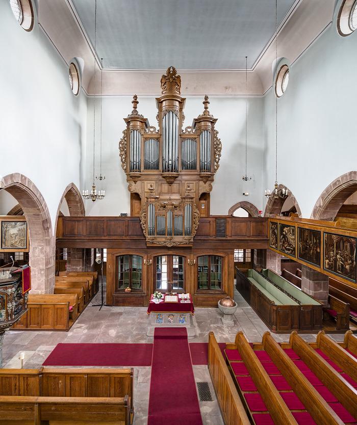 Journées du patrimoine 2018 - Visite libre de l'église protestante de Bouxwiller