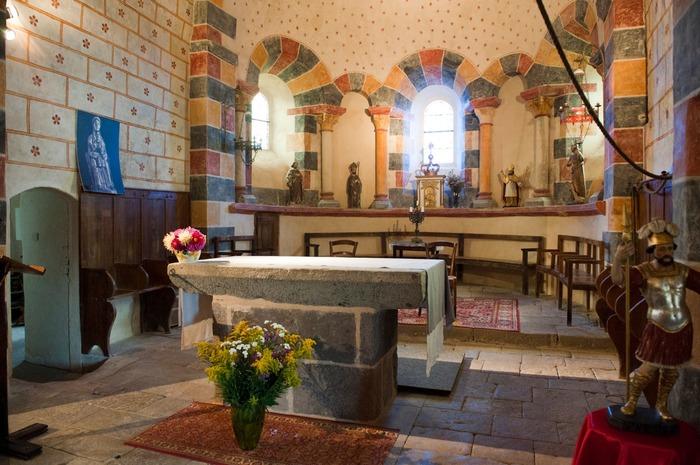 Journées du patrimoine 2018 - Visite libre de l'église romane Saint-Victor.
