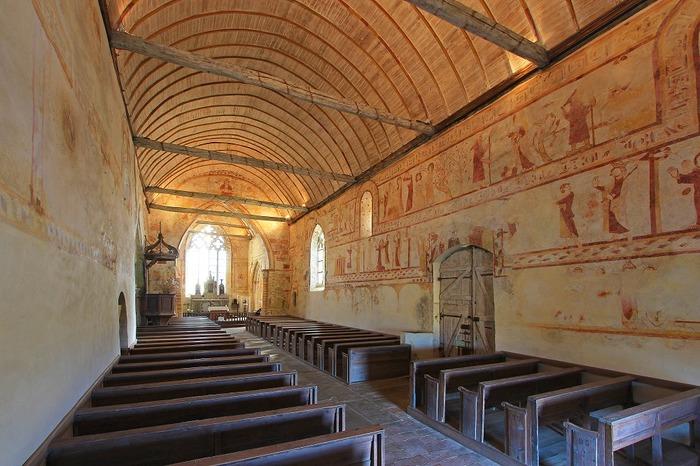 Journées du patrimoine 2018 - Visite libre ou guidée de l'église Saint-Gobrien et ses fresques