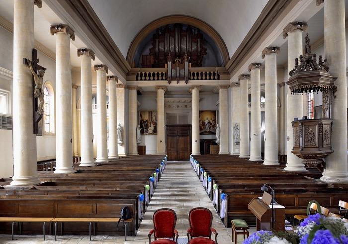 Journées du patrimoine 2018 - Visite libre de l'église Saint-Grégoire de Stenay