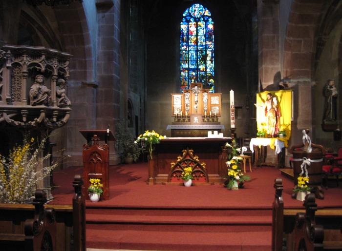 Journées du patrimoine 2018 - Visite libre de l'église Saint-Martin d'Ammerschwihr
