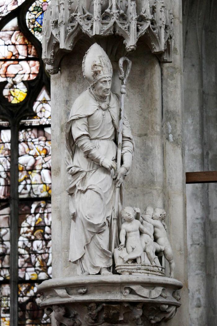 Crédits image : Saint Nicolas, église Saint-Pantaléon - Photographie : Adrien Clergeot, Ville de Troyes