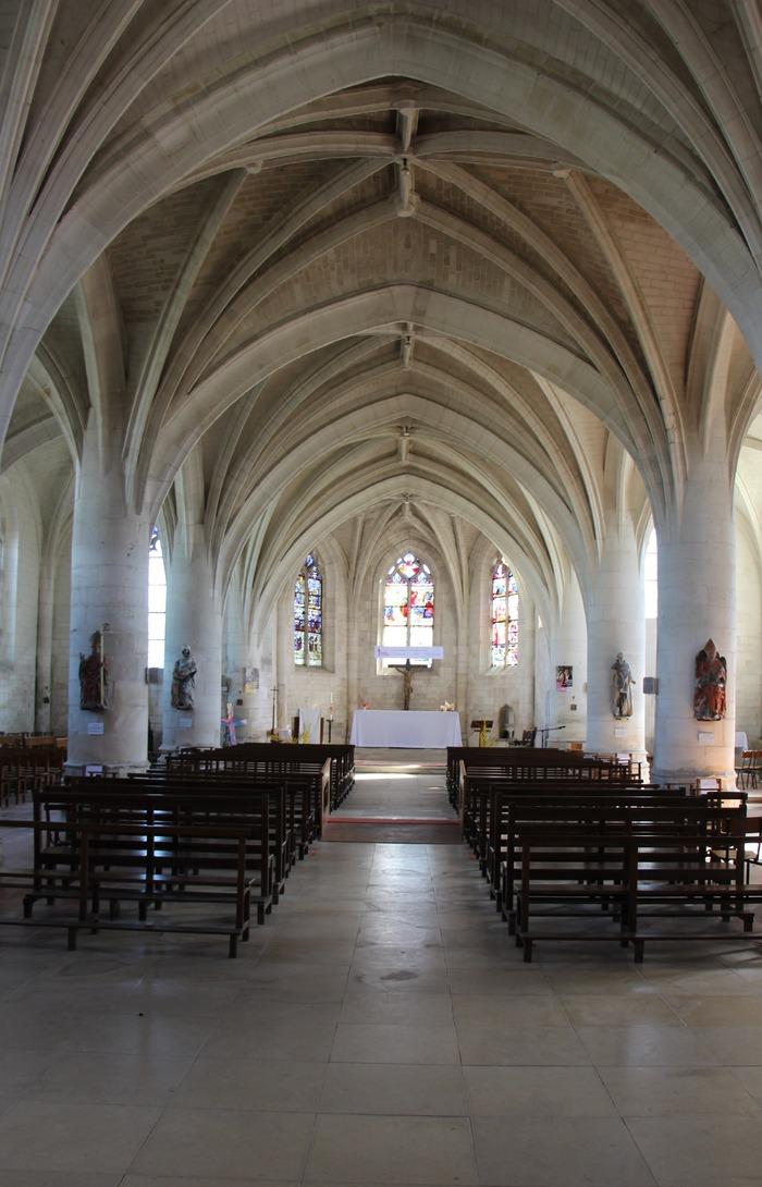 Journées du patrimoine 2018 - Visite libre de l'église Saint-Patrocle