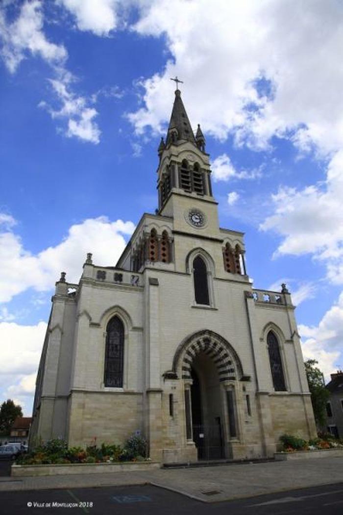 Journées du patrimoine 2018 - Visite libre de l'église Saint-Paul de Montluçon.