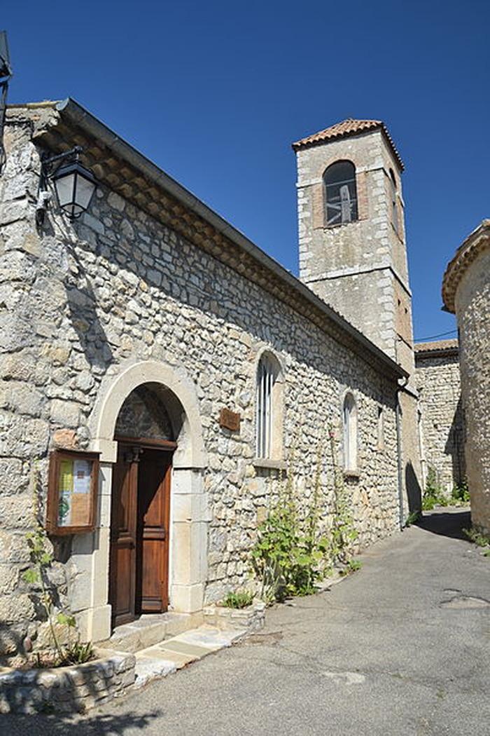 Journées du patrimoine 2018 - Visite libre de l'église Saint-Pierre de Villeperdrix.