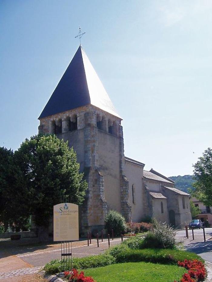 Journées du patrimoine 2018 - Visite libre de l'église St-Georges de Désertines.