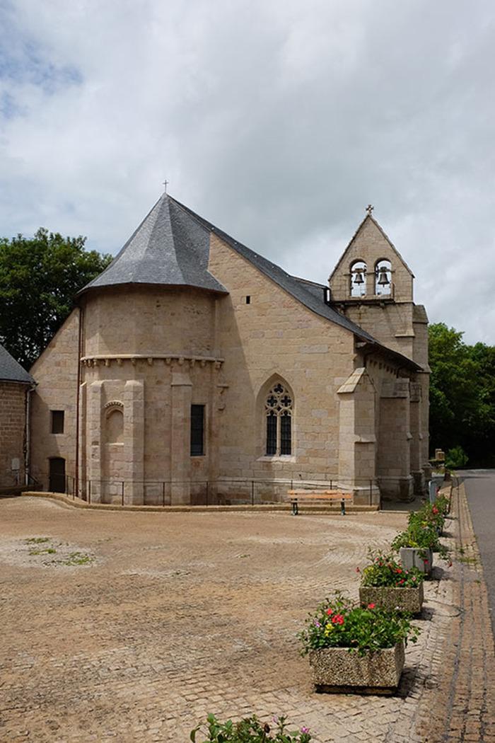 Journées du patrimoine 2018 - Visite libre de l'église St-Gilles et St-Georges de Tarnac
