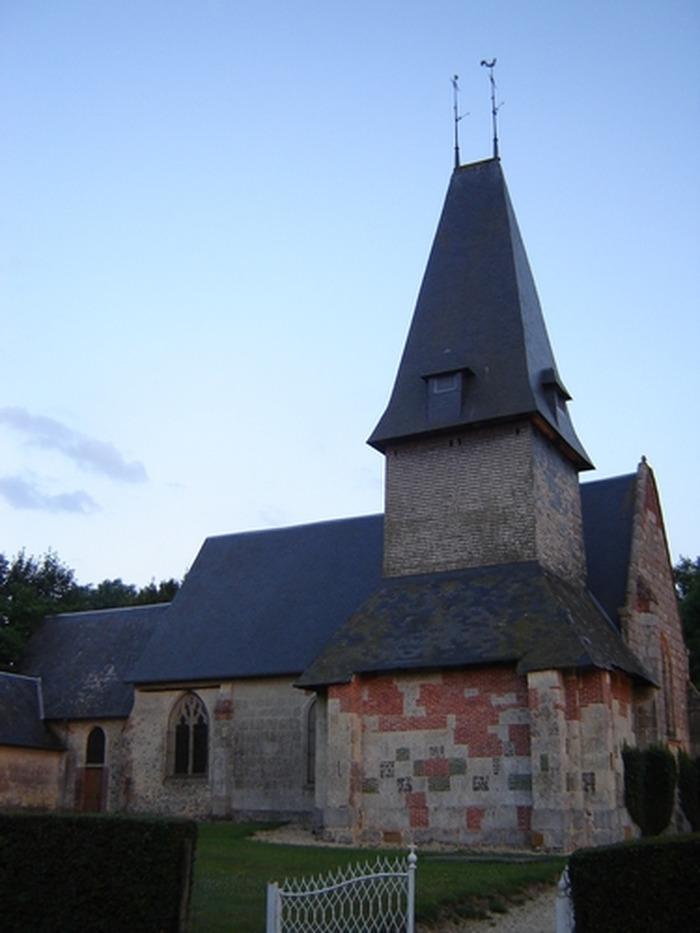 Journées du patrimoine 2018 - Visite libre de l'église Saint-Sébastien à Preaux Saint-Sebastien