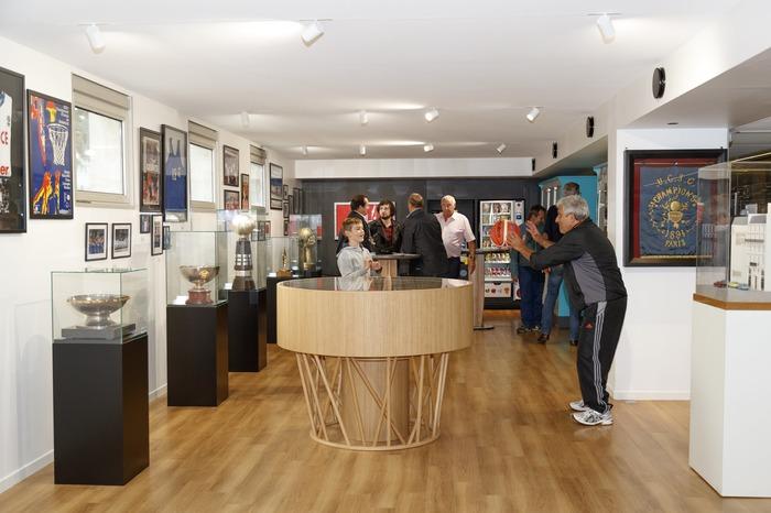 Journées du patrimoine 2018 - Visite libre de l'Espace muséal de la Fédération Française de BasketBall