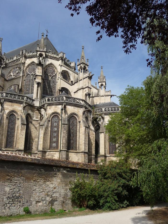 Crédits image : Chevet de la cathédrale de Troyes - Photographie : Marie-Anne Ballot