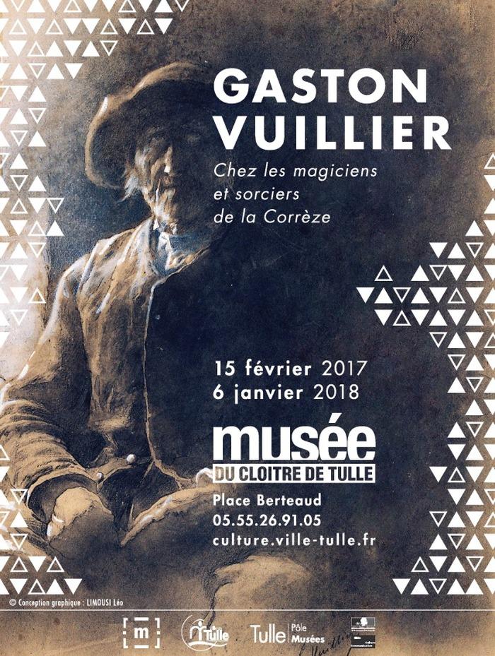 Journées du patrimoine 2017 - Exposition « Gaston Vuillier »