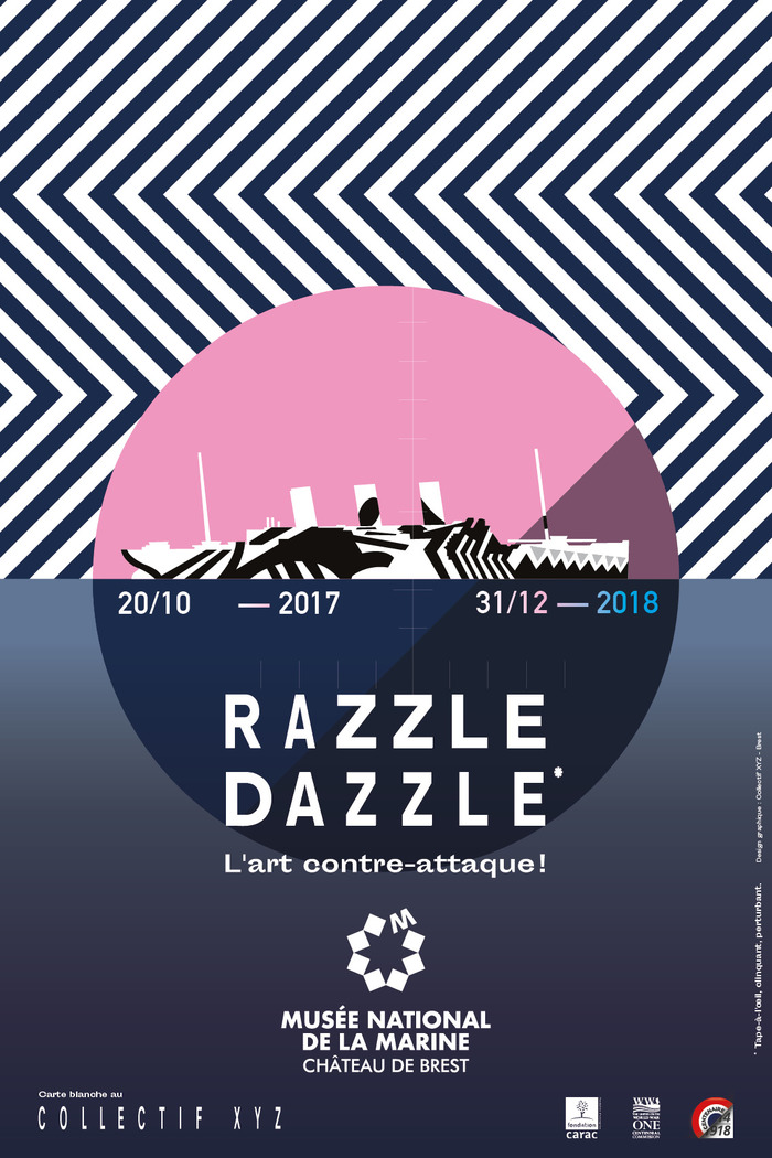 Journées du patrimoine 2018 - Visite libre de l'exposition Razzle Dazzle l'art contre-attaque !