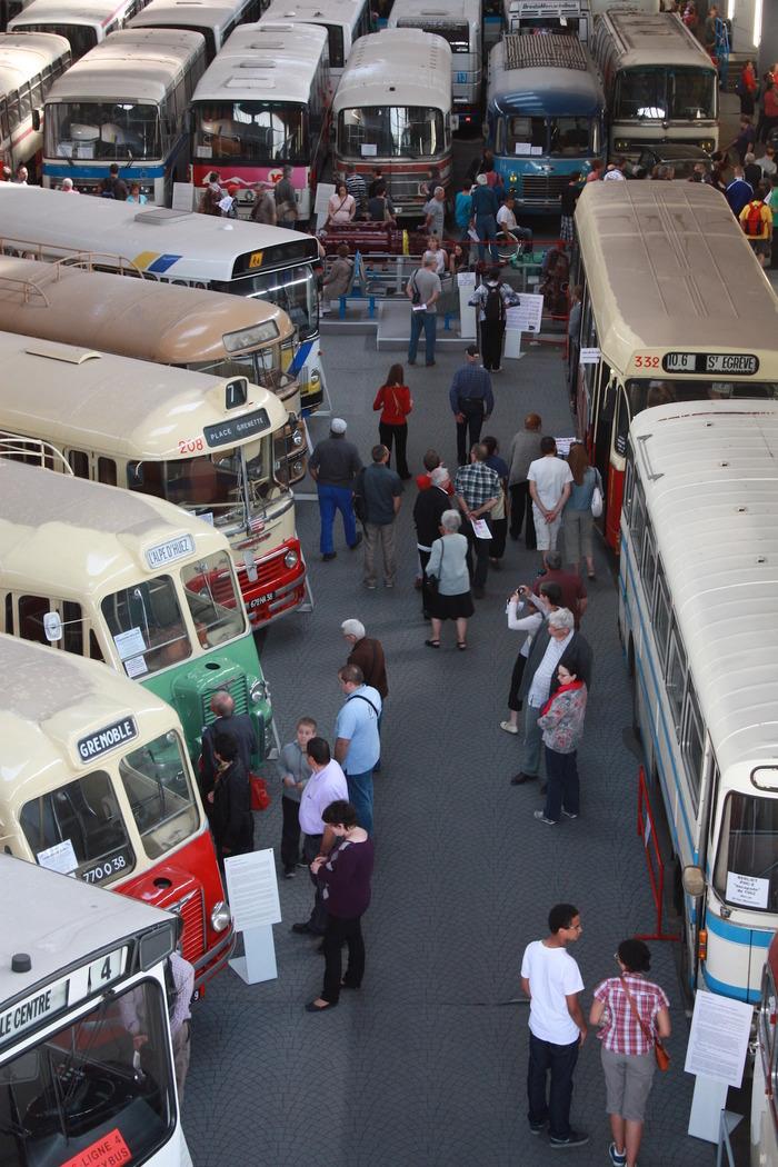 Journées du patrimoine 2018 - Visite libre de l'histo bus dauphinois.