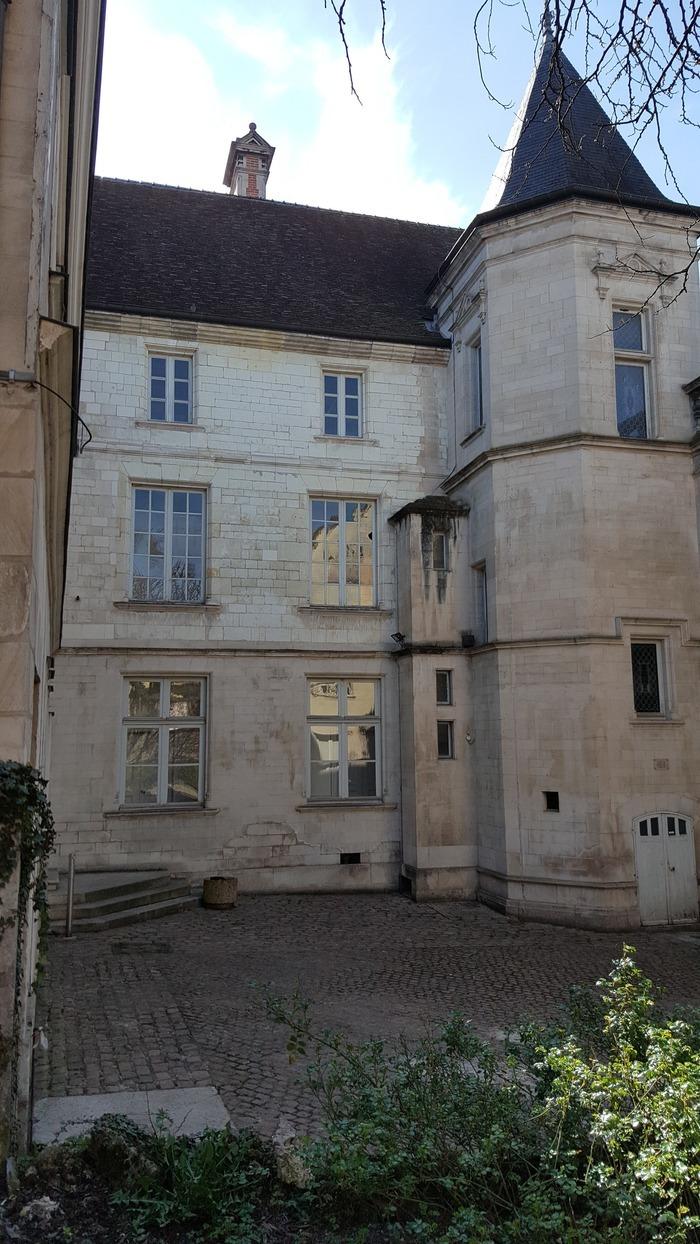 Journées du patrimoine 2018 - Visite libre de l'hôtel de Marisy - Région Grand Est - Agence territoriale de Troyes