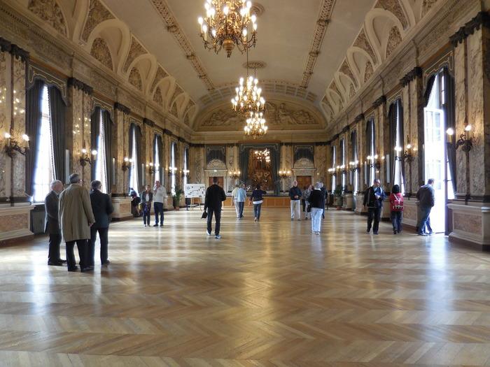 Crédits image : Salle des Fêtes - Photographie : Animation du patrimoine, Ville de Troyes