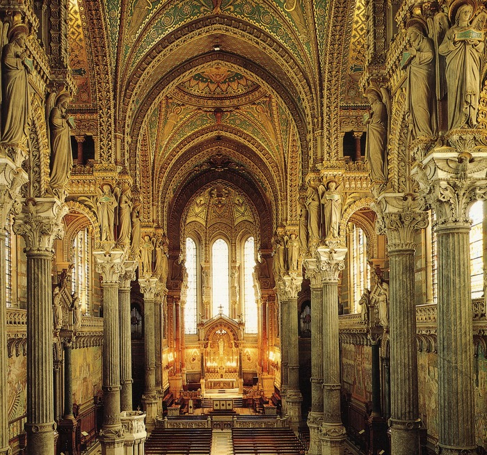 Journées du patrimoine 2018 - Visite libre de la basilique Notre-Dame de Fourvière.