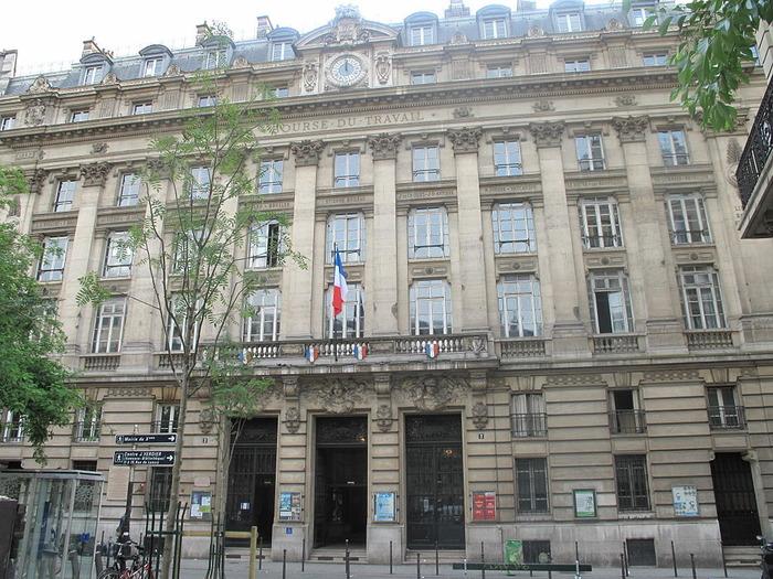 Journées du patrimoine 2018 - Visite libre de la Bourse du Travail de Paris