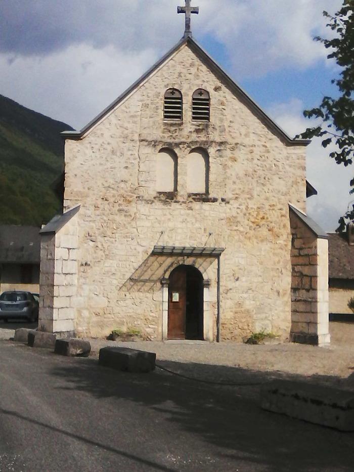 Journées du patrimoine 2018 - Visite libre de la chapelle d'Ameyzieu.
