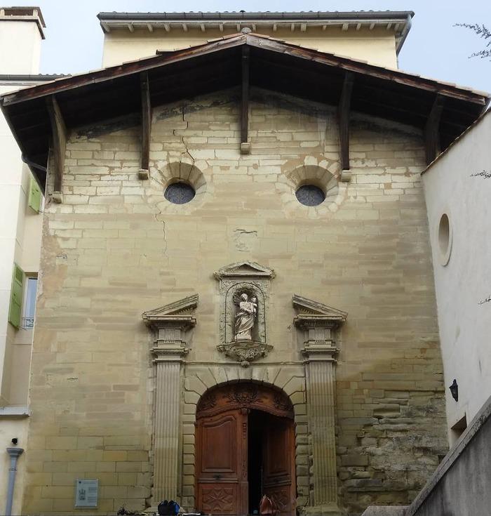 Journées du patrimoine 2018 - Visite libre de la chapelle de la Visitation Sainte-Marie