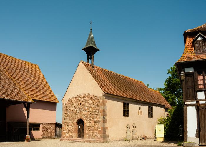 Journées du patrimoine 2018 - Visite libre de la chapelle du Holzbad