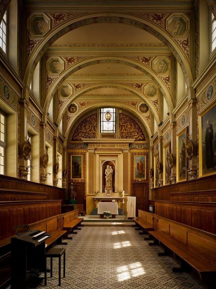 Journées du patrimoine 2018 - Visite libre de la Chapelle Saint-Patrick du CCI