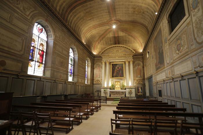 Crédits image : Chapelle de la Visitation - Photographie : Carole Bell, Ville de Troyes