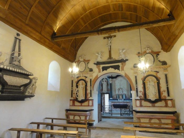 Journées du patrimoine 2018 - Visite libre de la chapelle de Barain