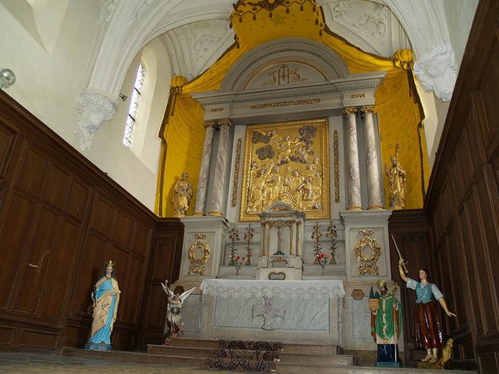 Journées du patrimoine 2018 - Visite libre de la collégiale Saint-Ermel de Vireux-Molhain