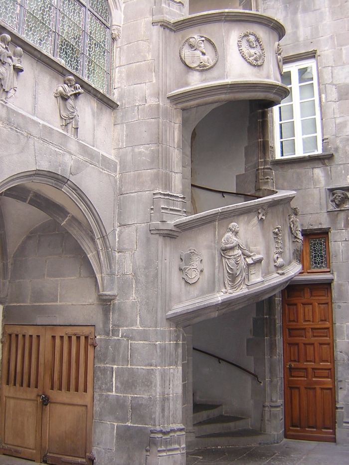 Journées du patrimoine 2018 - Visite libre de la cour intérieure de l'Hôtel Guymoneau.
