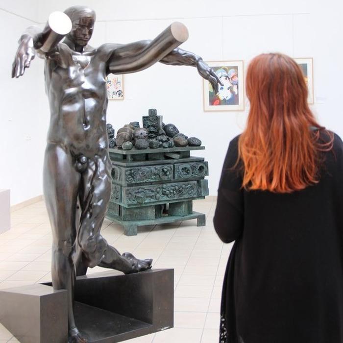 Journées du patrimoine 2018 - Visite libre de la galerie Ipoustéguy