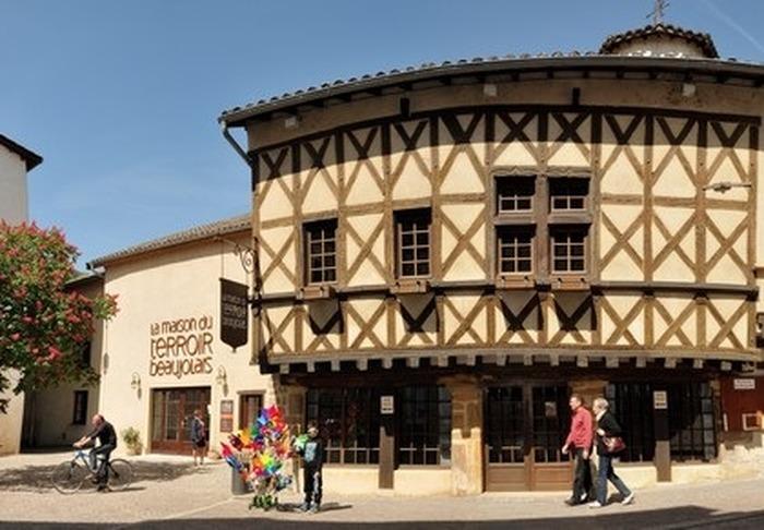 Journées du patrimoine 2018 - Visite libre de la maison du terroir beaujolais.