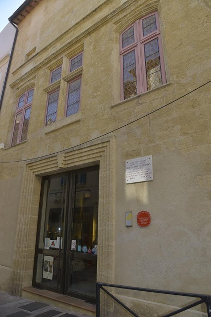 Journées du patrimoine 2018 - Visite libre de la Maison Nostradamus