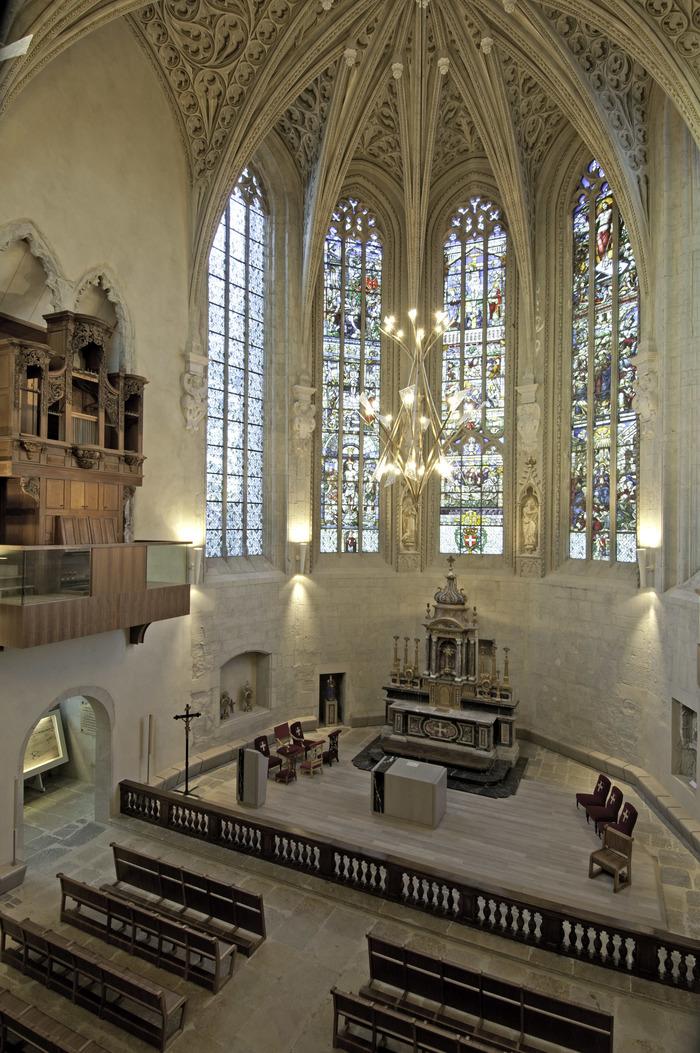Journées du patrimoine 2018 - Visite libre de la Sainte-Chapelle.