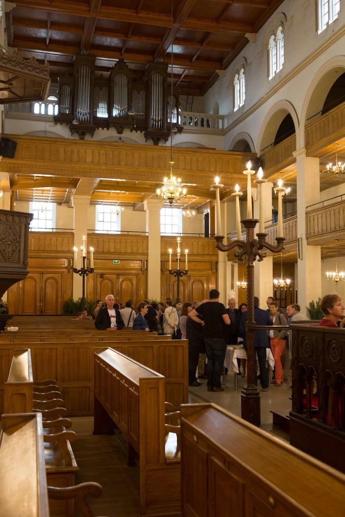 Journées du patrimoine 2018 - Visite libre de la synagogue