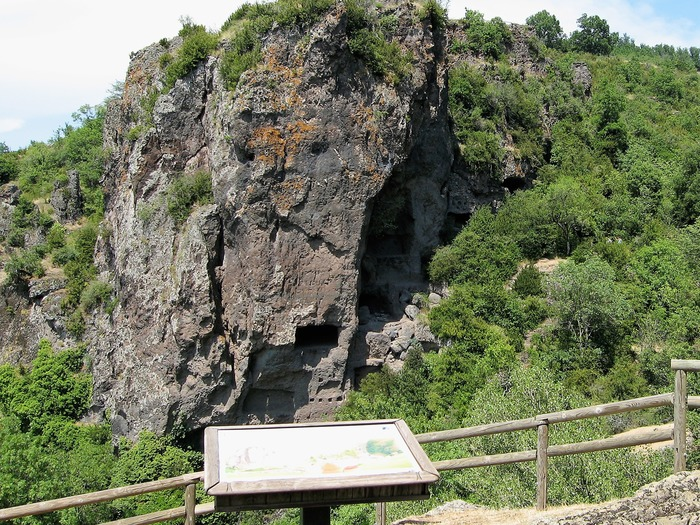 Journées du patrimoine 2018 - Visite libre des balmes de Montbrun.