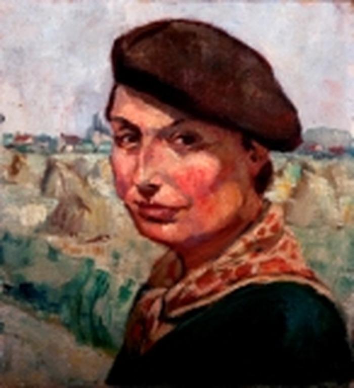 Crédits image : Clos de la Joÿe - Autoportrait de Jeanne Champillou  (1897-1978), peintre, graveur, céramiste