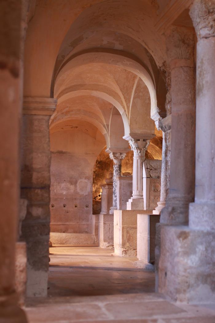 Journées du patrimoine 2018 - Visite libre des Cryptes de Jouarre