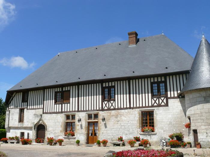 Journées du patrimoine 2017 - Visite libre des extérieurs de la ferme et du manoir de Cailletot