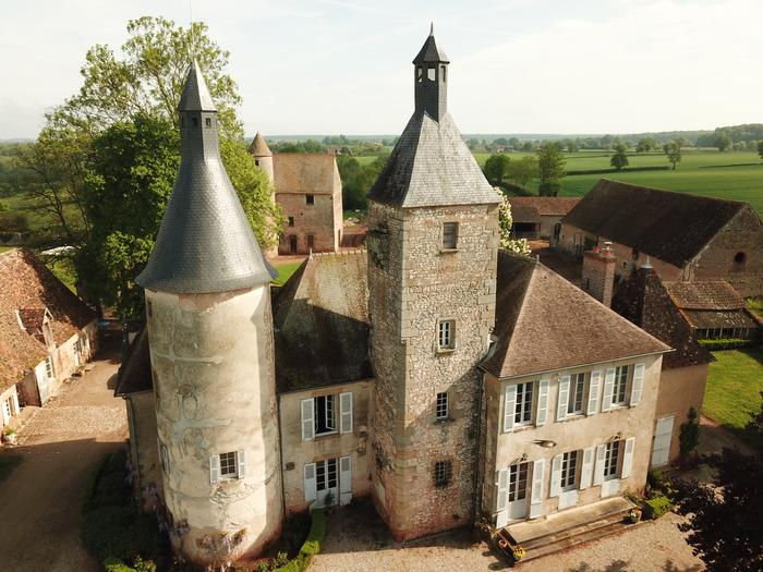 Journées du patrimoine 2018 - Visite libre des extérieurs du château de Clusors.
