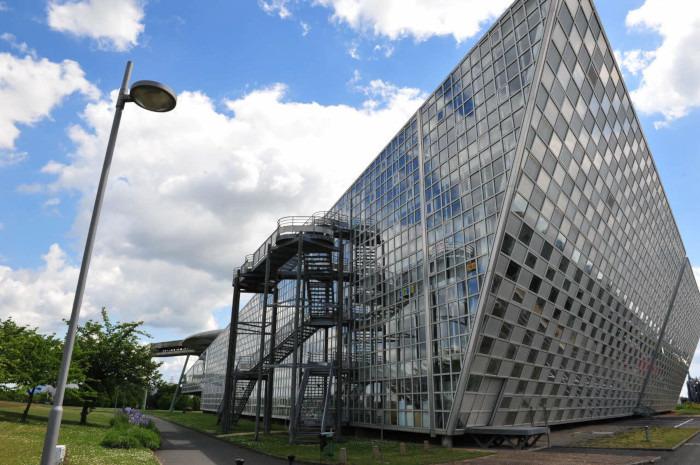 Journées du patrimoine 2018 - Visite libre des extérieurs du lycée pilote innovant international à Jaunay-Marigny