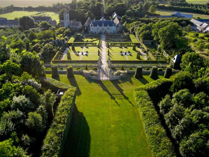 Crédits image : © jardins de Brécy
