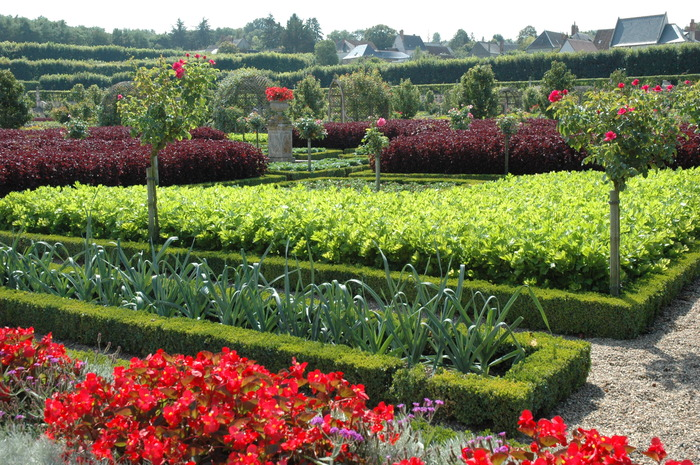 Crédits image : Château et Jardins de Villandry