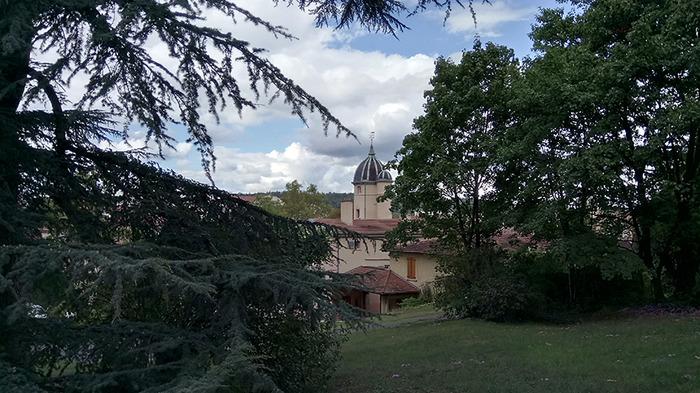 Journées du patrimoine 2018 - Visite libre des locaux et du parc de la paroisse d'Oullins.