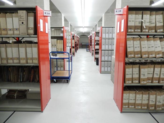 Journées du patrimoine 2017 - Découverte des magasins d'archives