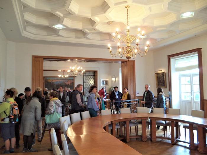 Journées du patrimoine 2018 - Visite libre des salons de la mairie de Saint-Jean-de-Luz