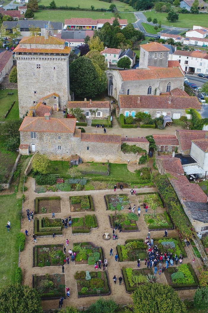 Journées du patrimoine 2018 - Visite libre du donjon, du jardin médiéval et du musée
