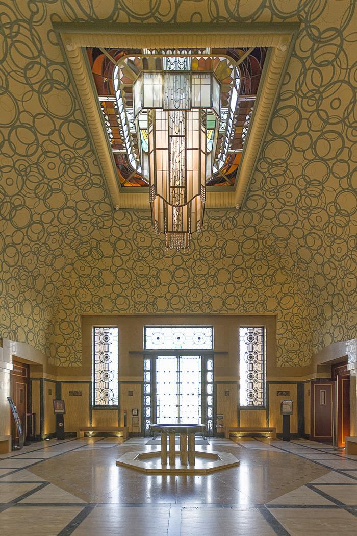 Journées du patrimoine 2018 - Visite libre du hall et de la salle d'exposition avec l'exposition Foujita, artiste du livre