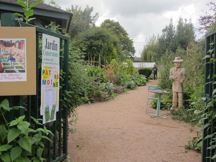 Journées du patrimoine 2018 - Visite libre du jardin du conservatoire